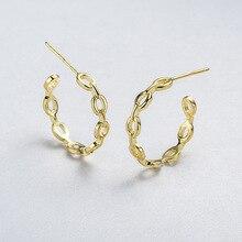 Новое поступление Высокое качество Ретро серьги для женщин 925 стерлингового серебра цепь Серьги гвоздики модные рождественские серьги