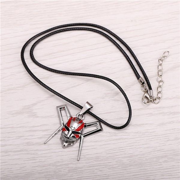 Anime Jewelry Bleach Logo Necklace