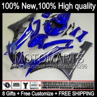 Body Body For YAMAHA Blue Black YZFR6 06 07 YZF 600 YZF R 6 YZF600 JK96