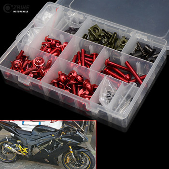 Tornillos de carenado, tornillo del parabrisas personalizado, accesorios de motocicleta para honda cbr 125 cb190r ducati multistrada 1200 bmw gs 1200