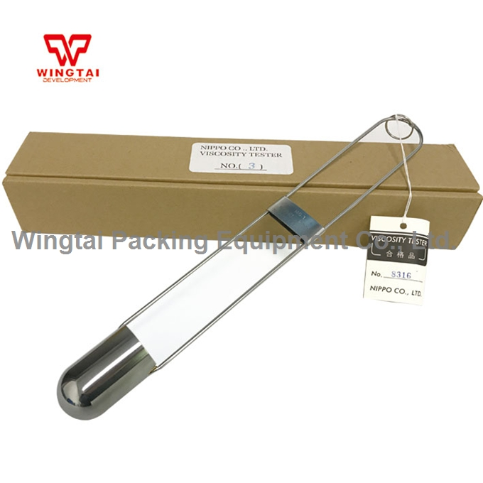 цена на Japan Original NIPPO viscosity Tester/ Viscosity measure instrument 2/3/4/5/6/7mm For Printing industry