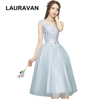 sexy light gray girl tea lengh party dresses bridesmaids for teen bridemaids dress ball gown wedding from china for weddings