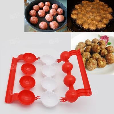 Միս Baller Տնական լցոնված գնդիկ Meatballs Ձկան գնդակներ Patty Makers DIY Խոհանոց Խոհարարություն Մսի գործիքներ