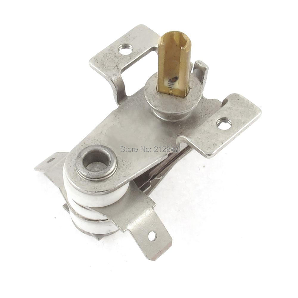 AC 250V 16A 70 Celsius Bimetal Adjustable Temperature Heating Thermostat Switch 2pcs ksd9700 250v 5a bimetal disc temperature switch n c thermostat thermal protector 40 135 degree centigrade