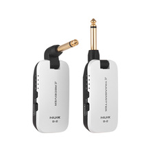 NUX B-2 Wireless Guitar System Transmitter Receiver 2.4G Portable Mini Audio No Cable for Bass Electric Guitar Interface Parts 2 4g 5 inch hd wireless mini portable dvr 2 4ghz receiver monitor for wireless