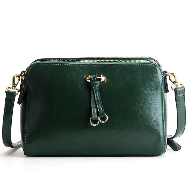 Women bag Fashion handbag new Genuine Leather fashion shoulder bag portable Leisure Messenger bag Small square package