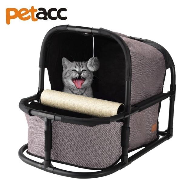 Petacc High quality Detachable Cat Bed Multi-functional Cat House Comfortable Cat Nest