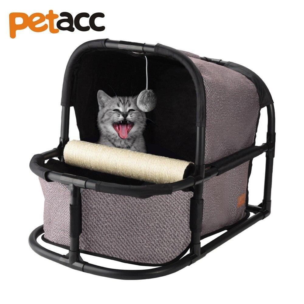 Petacc lit de chat amovible de haute qualité maison de chat multifonctionnelle nid de chat confortable