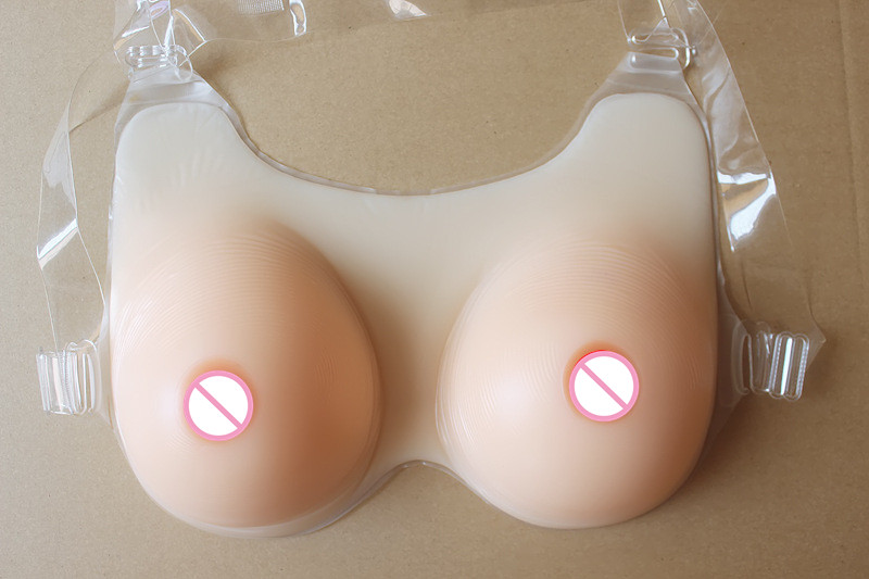 Plump Sexy Big Cup Silicone Fake Breast Form Artificial for Cross Dressers or Women Enhancers False Big-Style Boobs High Elastic  free delivery cheap price promotional 1400g pair plump sexy fake silicone breasts forms for cross dressers or women enlarge