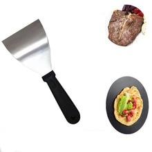 Кухня инструменты из нержавеющей стали лопатка для блинчиков бытовой останов блины фрукты теппаньяки жареные лопатка для льда лопатка для стейков сократить* D