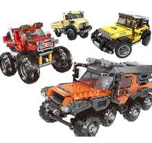 500+pcs Super all-terrain vehicle Set Building Blocks Model Bricks Toys For children Educational Gifts Compatible Legoing