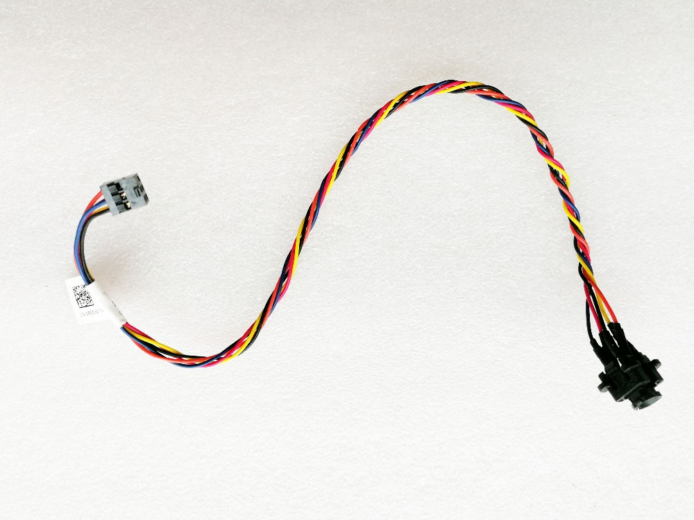 Computer & Office Original For Dell Optiplex 390 790 990 3010 7010 9010 Mini Tower Power Switch Led Cable 085dx6 85dx6 Works