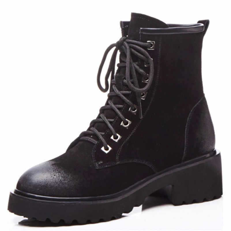FEDONAS חדש למעלה איכות נשים גבוהה עקבים Corss-קשור קרסול מגפי סתיו חורף קצר אופנוע מגפי גבירותיי פאנק גבירותיי מגפיים
