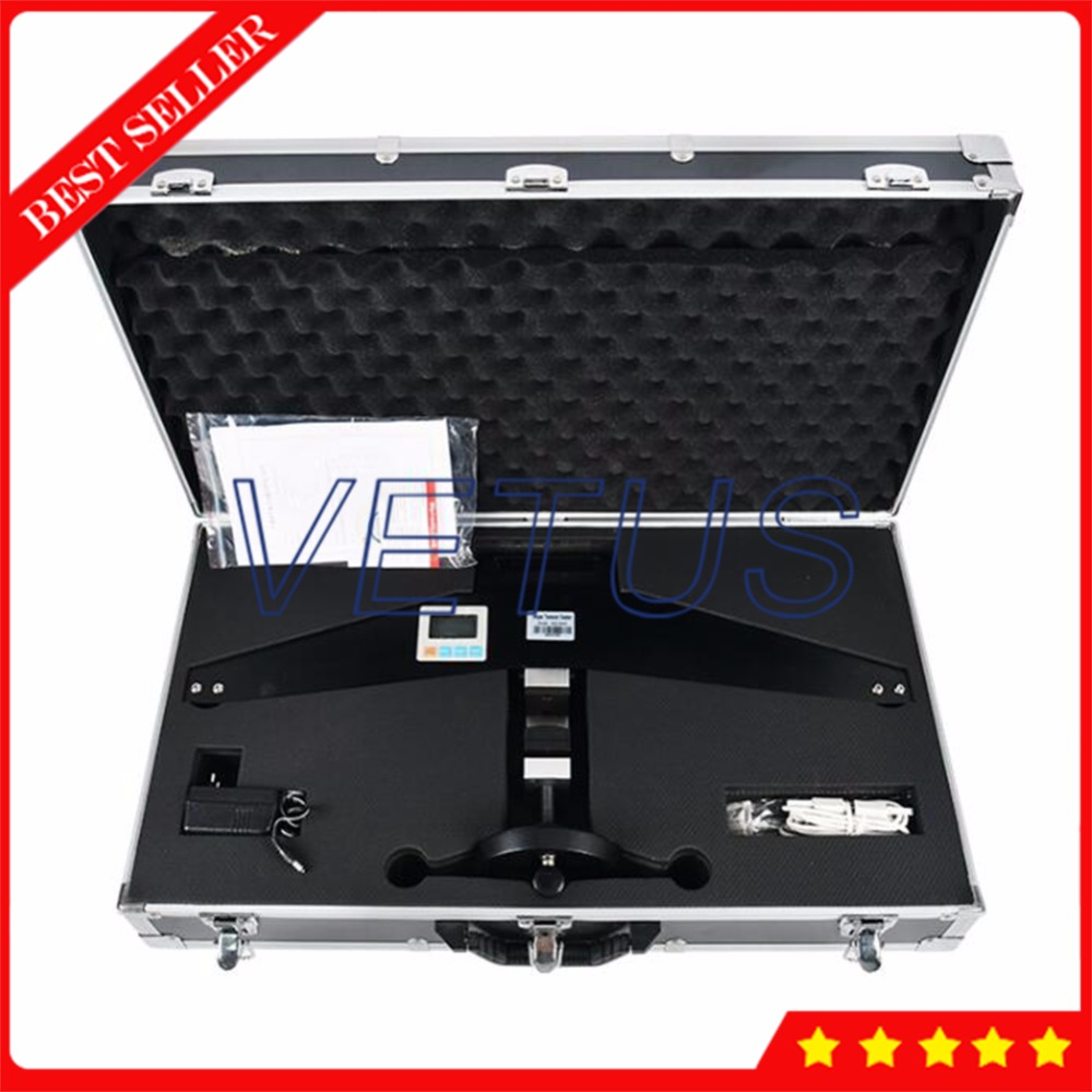 Максимальная нагрузка 200KN Профессиональная Скакалка прибор для испытания натяжения с высокопрочным стальным тросом трос Тензиометр датчи