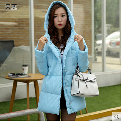 Cotton female in thickening cotton-padded jacket coat is natural yards long winter 2017 college students leisure wind coat female head teachers administrative challenges in schools in kenya