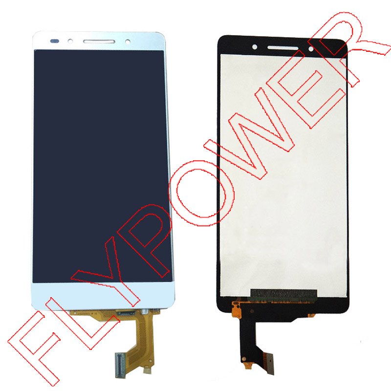 Подробнее о For Huawei Honor 7 lcd screen display with digitizer touch screen Assembly white by free shipping for huawei honor 3 hn3 u01 hn3 u00 lcd sceen display with white touch screen digitizer assembly by free shipping 100