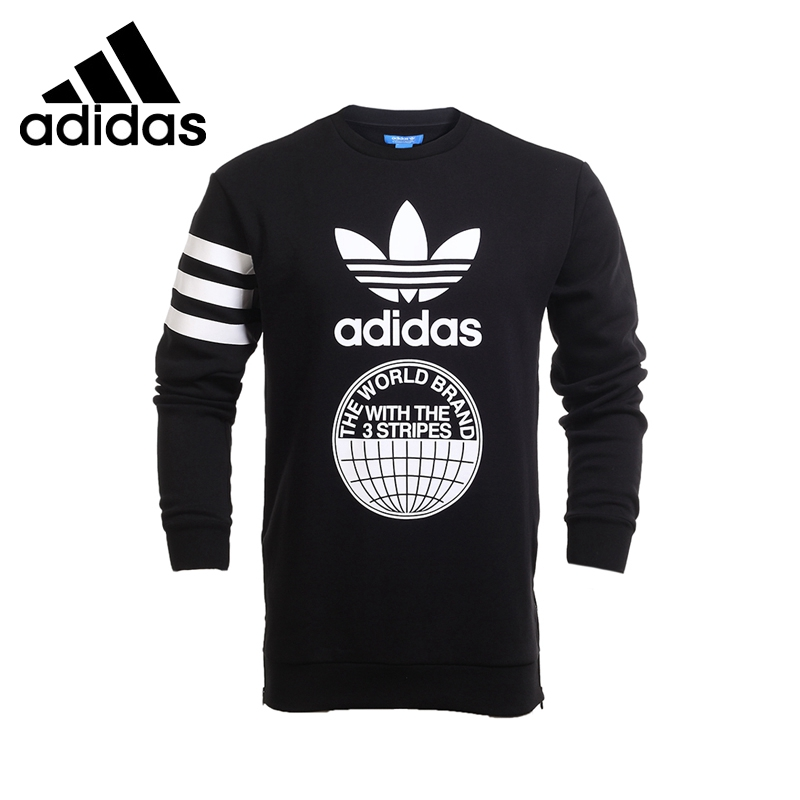 Original New Arrival 2017 Adidas Originals STREET GRAPH CR Men's Pullover Jerseys Sportswear adidas original new arrival official neo women s knitted pants breathable elatstic waist sportswear bs4904
