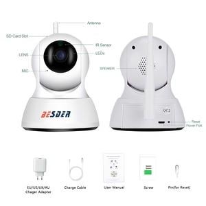 Image 5 - BESDER 홈 스마트 보안 IP 카메라 와이파이 1080P P2P 양방향 오디오 베이비 모니터 모션 경고 미니 팬 틸트 CCTV 비디오 IP 카메라