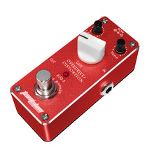 Aroma Tom'sline AOD-3 Mini Aluminum Alloy Overdrive Distortion Electric Guitar Effect Pedal True Bypass