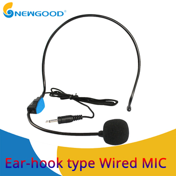 Professional Wired Microphone Headset Microfone For Voice Amplifier Speaker With Bright Clear Sound MIC