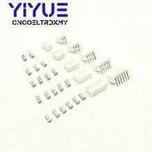 500 комплектов 2-12pin 2,0 мм Шаг PH 2,0 терминал/корпус/прямоугольный штыревой разъем коннектор комплект адаптеров для проводов PH2.0