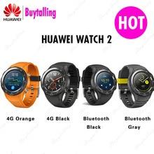 Original Huawei Uhr 2 Smart uhr Unterstützung LTE 4G Anruf Herz Rate Tracker Für Android iOS IP68 wasserdicht NFC GPS