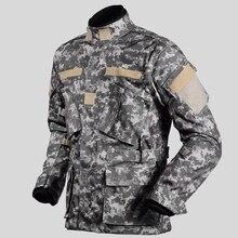 남자 오토바이 방수 모험 여행 사냥 재킷 군사 육군 카 모 겨울 자 켓