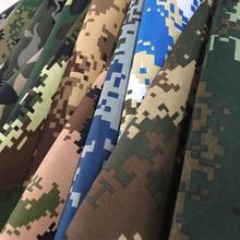 1 м* 1,5 м Тяжелая камуфляжная ткань для военной тренировочной формы и цифровая камуфляжная ткань для стола