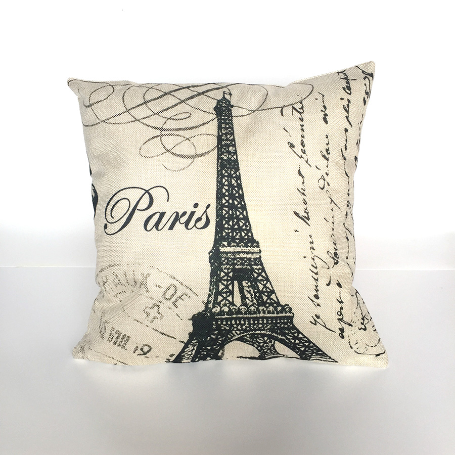 Scenic Cushion Pillow Case Cover Decorative Pillows Covers Linen Cotton For Sofa Decor H ...