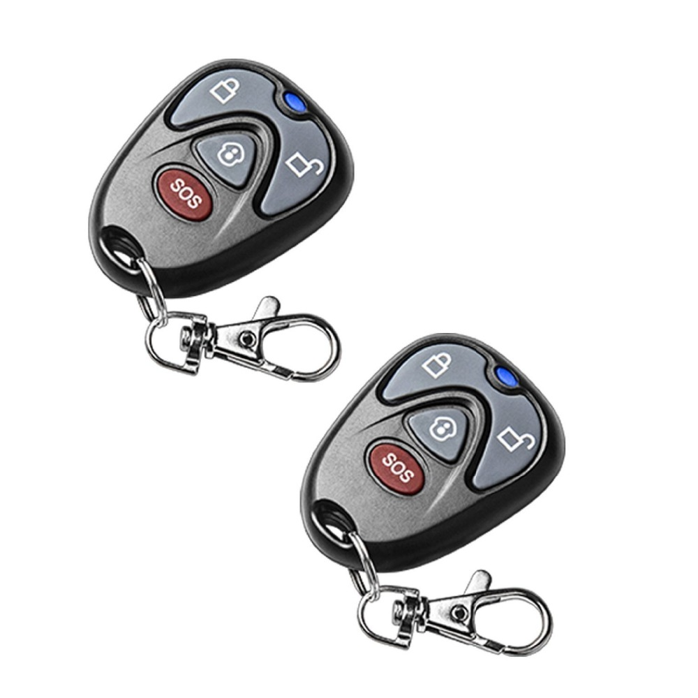 2 pcs lot High quality 433Mhz font b keychain b font Remote Control for G90E G90B