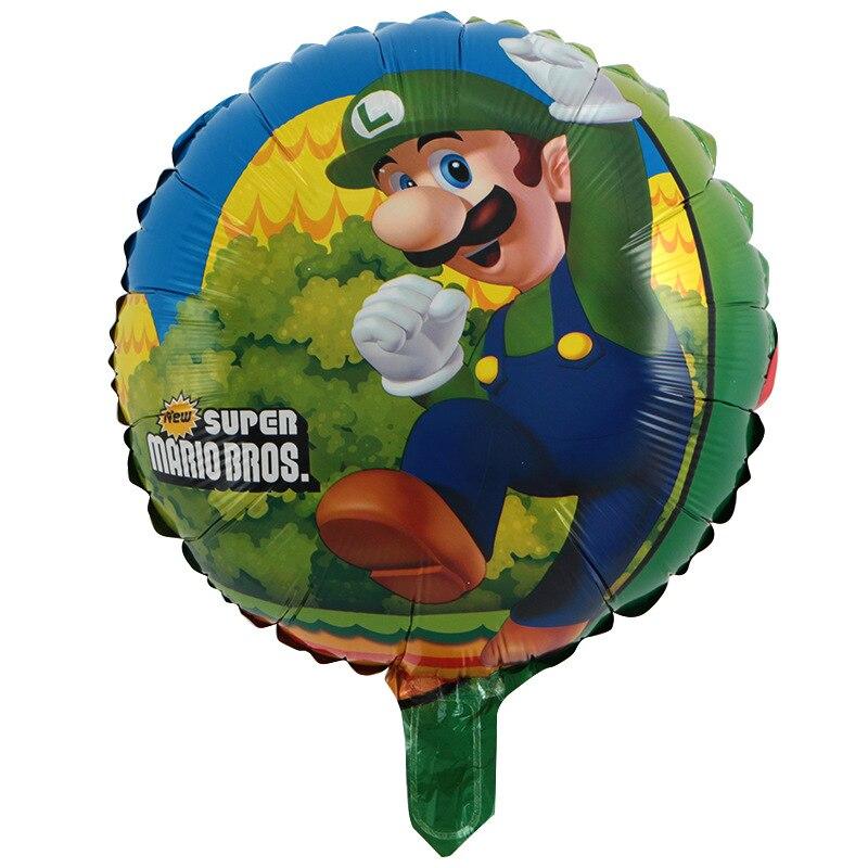 10pcs-lot-Super-Mario-Balloons-Classic-Toys-Mario-Bros-Mylar-Balloons-Birthday-Party-Decoration-Balloons-Mario