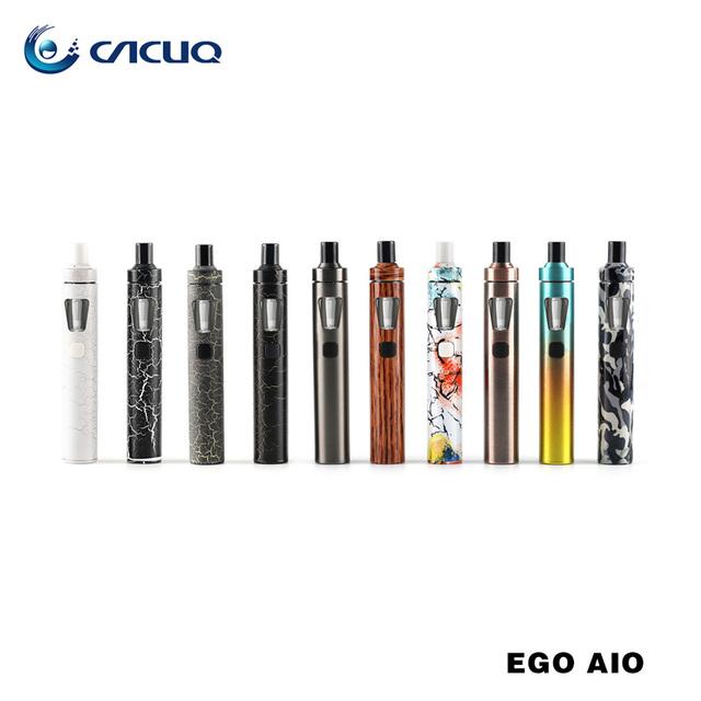 Nueva Llegada Original Joyetech EGo Kit Aio Con nuevos Colores 1500 mah batería cigarrillo electrónico kit con 2 ml atomizador barato e cigarrillo