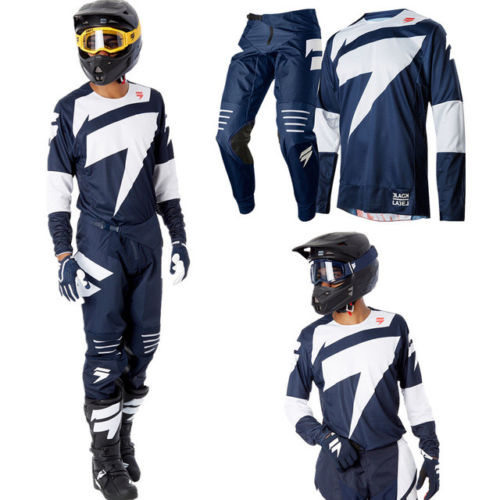 SHIFT BLACK LABEL MAINLINE 2018 MOTOCROSS/MTB KIT BLUE MX MTB DH Downhill Offroad Motocross Kit Motocross Suit2