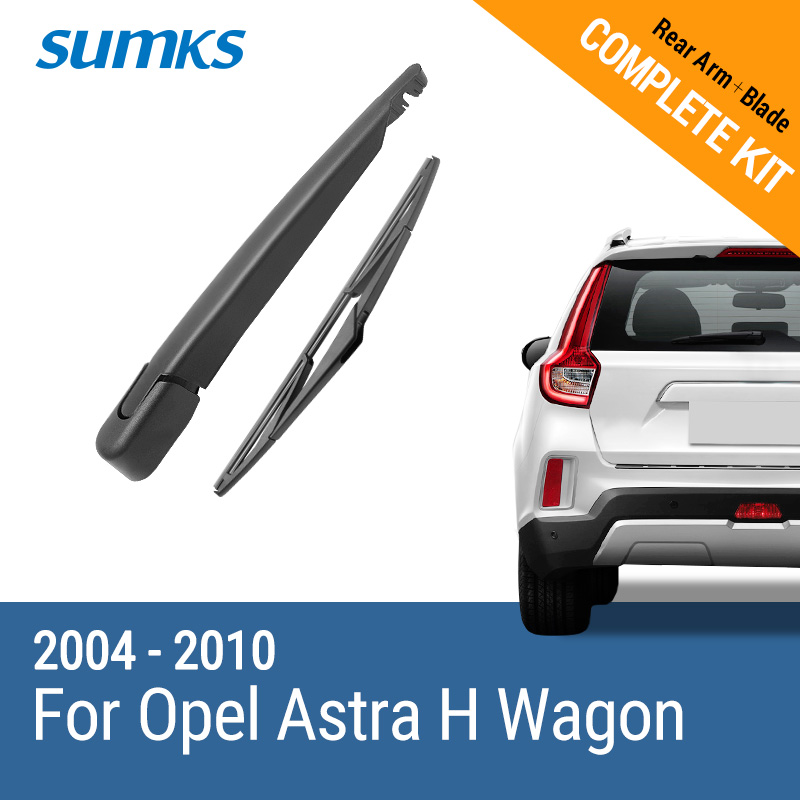 цена на SUMKS Rear Wiper and Arm for Opel Astra H Wagon / Opel Astra H Hatchback 2004 2005 2006 2007 2008 2009 2010 R12J2-690