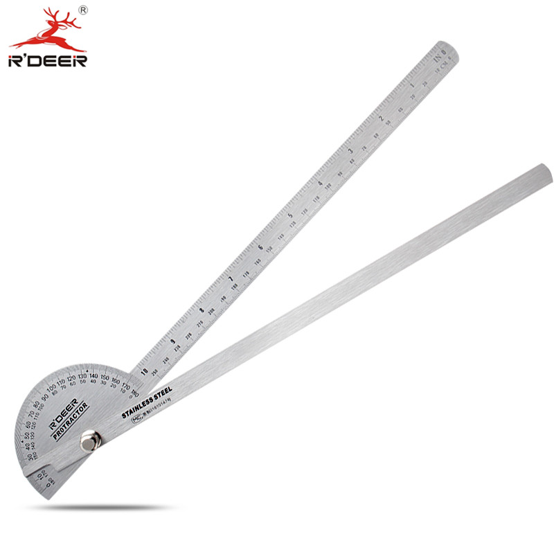Stainless Steel Adjustable Angle Gauge w Protractor