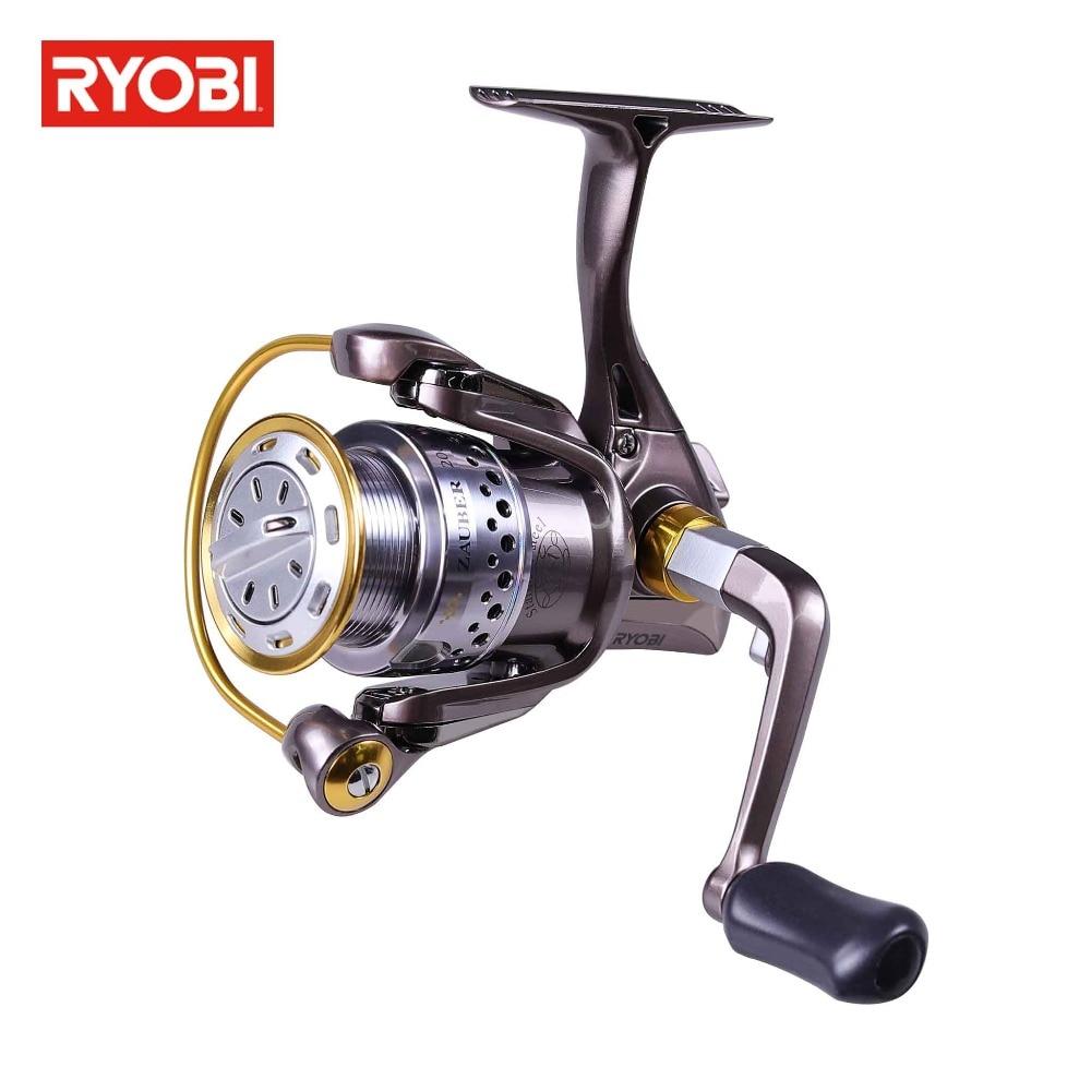 Ryobi ZAUBER 1000 2000 3000 4000 Spinning Reel 8 1BB Max Drag Up To 5kg Carbon