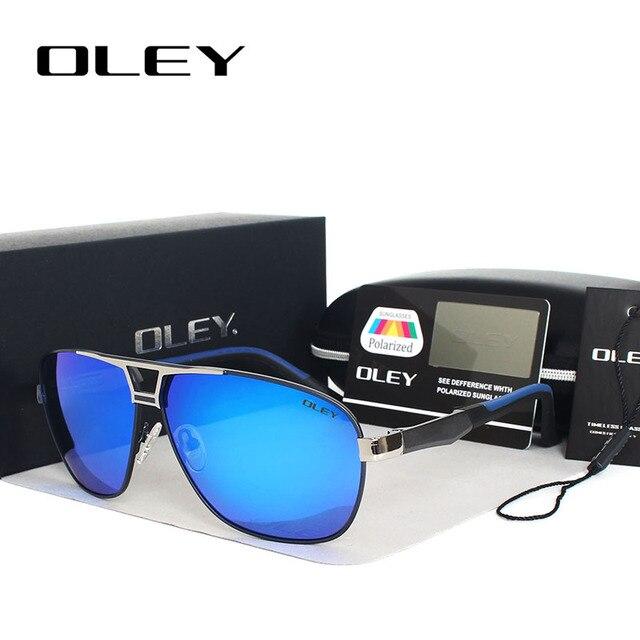En aluminium-alliage de magnésium lunettes de Soleil Hommes marque de luxe  Polarisée conduite lunettes 471270d95e22