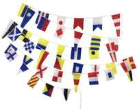 Length 14M 40 flags Marine ship boat Vessel Maritime Signal Flags string