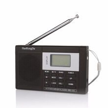 FM AM SW World Band Handheld Digital Radio Shortwave Multiband Receiver 3.5mm