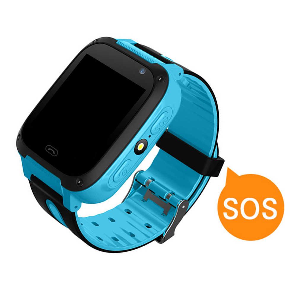Модные Повседневные детские водонепроницаемые часы T8 с камерой для отслеживания местоположения, смарт-наручные часы для телефона