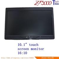 Stock D sub 10.1 16:10 Tft Led Hdmi Vga Av Input Usb capacitance multi Touch Screen Car Hd Monitor touch screen monitor