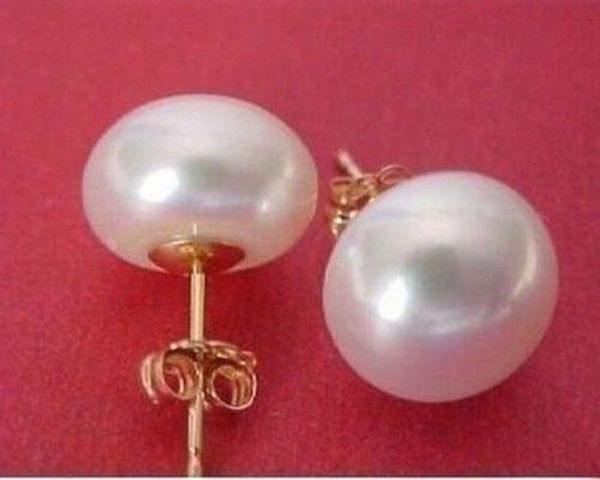 80/%OFF  8.5-9mm Akoya AAA++ Yellow Golden Akoya Pearls Earrings 14kt Gold