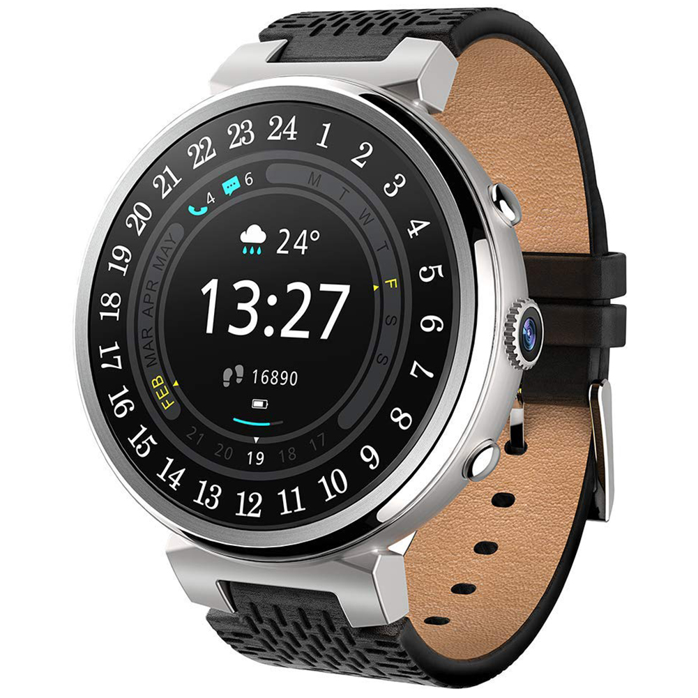 I6 Android IPX5 Waterproof WiFi Heart Rate 2GB+16GB Camera Smartwatch for Samsung Galaxy/Note, Huawei Mate/Honor