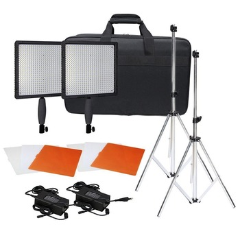Neewer CN-576 576PCS LED Dimmable Ultra High Power Panel Digital Camera / Camcorder Video Light Kit