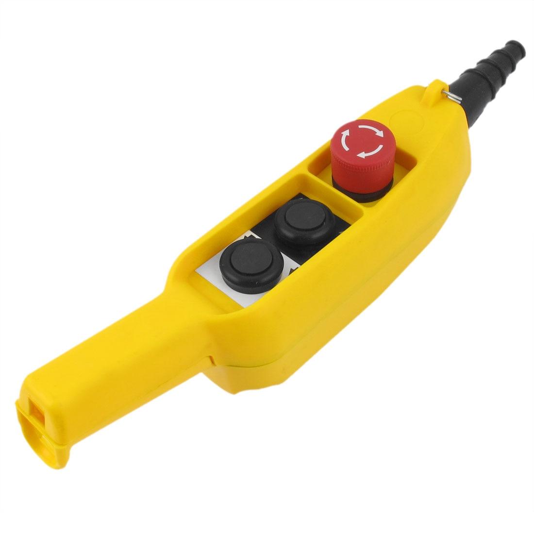 Interrupteur à bouton poussoir anti-pluie pour le contrôle de la grue de levage