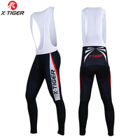 X Tiger Highest Quality Cycling Bib Trousers Winter Keep Warm Thermal MTB Bike Pants Bicycle Tights