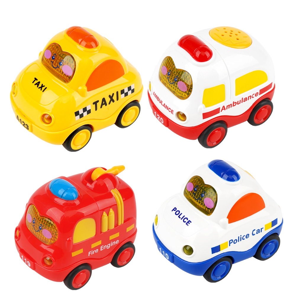 Giocattolo del bambino di automobile del bambino inerzia auto giocattolo del ragazzo del fuoco camion ambulanza taxi suono e la luce di effetto sonoroGiocattolo del bambino di automobile del bambino inerzia auto giocattolo del ragazzo del fuoco camion ambulanza taxi suono e la luce di effetto sonoro