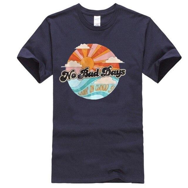 Há dias ruins t-shirt do vintage, retro há dias ruins, vivendo em t-shirts, retro 70 s tees