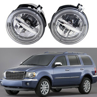 2pcs 10W Cree Chips LED Fog Lamp Halo Angle Eyes Light Drl ForChrysler 300 07 10