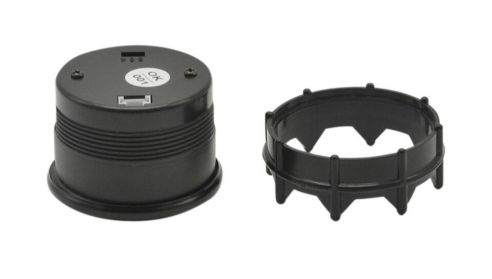 Дракон манометр 52 мм черный корпус синий цифровой светодиодный подсветка автомобиля Moter датчик температуры воды измеритель температуры воды с датчиком